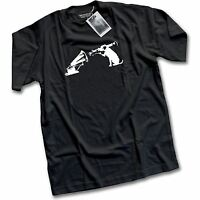NEW Banksy Graffiti HMV Exit Through The Gift Shop Art Print Mens T-Shirt