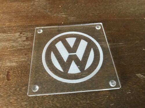 Custom Acrylique Coasters Set de six voiture Décorations de table VW Camper T4 T5
