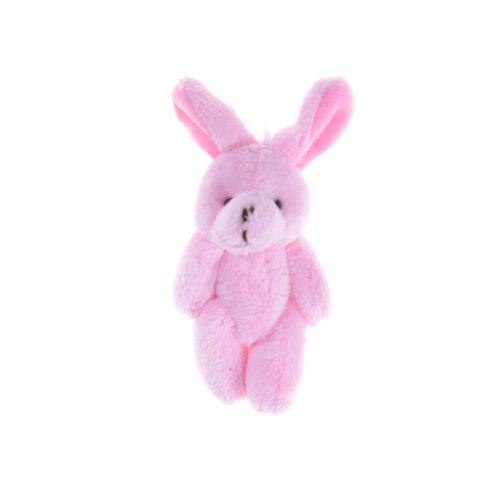 2PC Wedding Gift Joint Rabbit Pendant Plush Stuffed TOY Soft Rabbit ToyA*