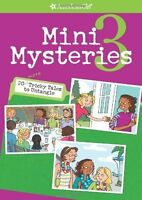 American Girl Book Mini Mysteries 3 Doll Story Paperback My Ag Book For Girl