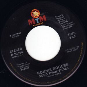 """RONNIE ROGERS - Good Timin' Shoes  7"""" 45"""