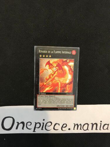 Renarde De La Flamme Infernale CBLZ-FR087 1st Yu-gi-oh
