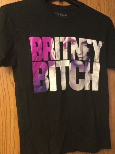 "Britney Spears - ""Britney Bitch"" - Black Shirt.  … - image 1"
