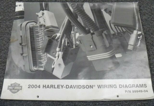 2004 Harley Davidson Electra Glide Motorcycle Electrical