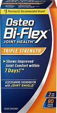 80 Osteo Bi-Flex Triple Strength Glucosamine Chondroitin 5-Loxin Joint Comfort