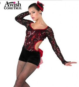 b4d2fd446121 A Wish Come True Gimme Gimme Red Size IMC Tap Jazz Musical Theater ...