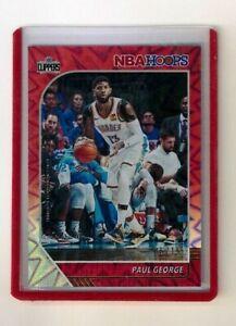 PAUL-GEORGE-2019-20-NBA-HOOPS-RED-HOLO-15-NBA-CARD-132