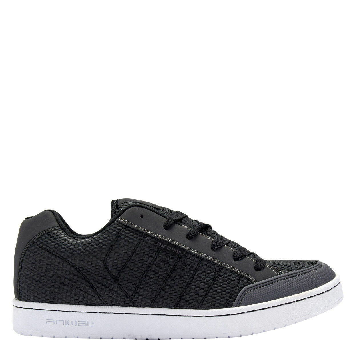 ANIMAL PADDED MENS TRAINERS.BOXED MITCH GREY PADDED ANIMAL SKATE SHOES.RUBBER SOLE 8S 21 L63 d6eacd