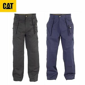 6167fa0736 NEW Caterpillar CAT CARGO WORK PANTS WITH KNEE PAD POCKETS C820   eBay