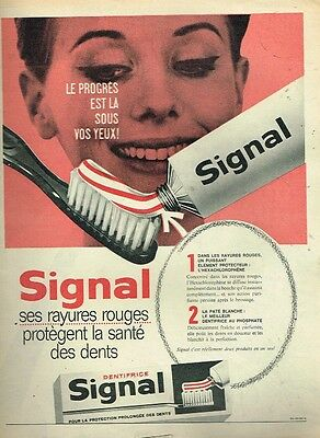 Breweriana, Beer Candid C Publicité Advertising 1958 Le Dentifrice Signal 2019 Latest Style Online Sale 50% Other Breweriana