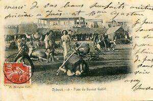 Carte-DJIBOUTI-Place-du-Baudart-Guedit-Hommes-Animaux-Habitat