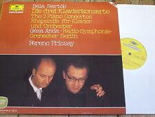 2726 005 Bartok The 3 Piano Concertos etc. / Anda / Fricsay 2 LP set