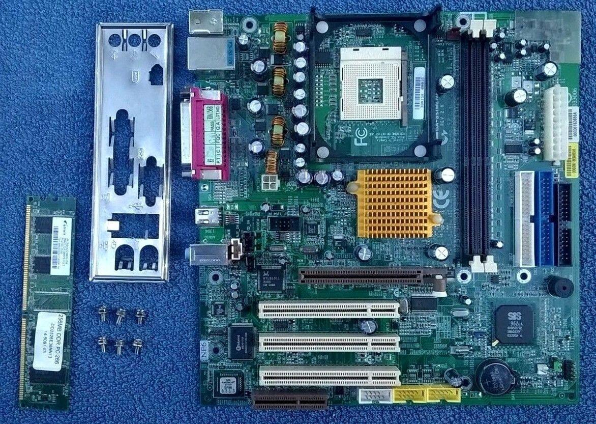 P4mdpt motherboard