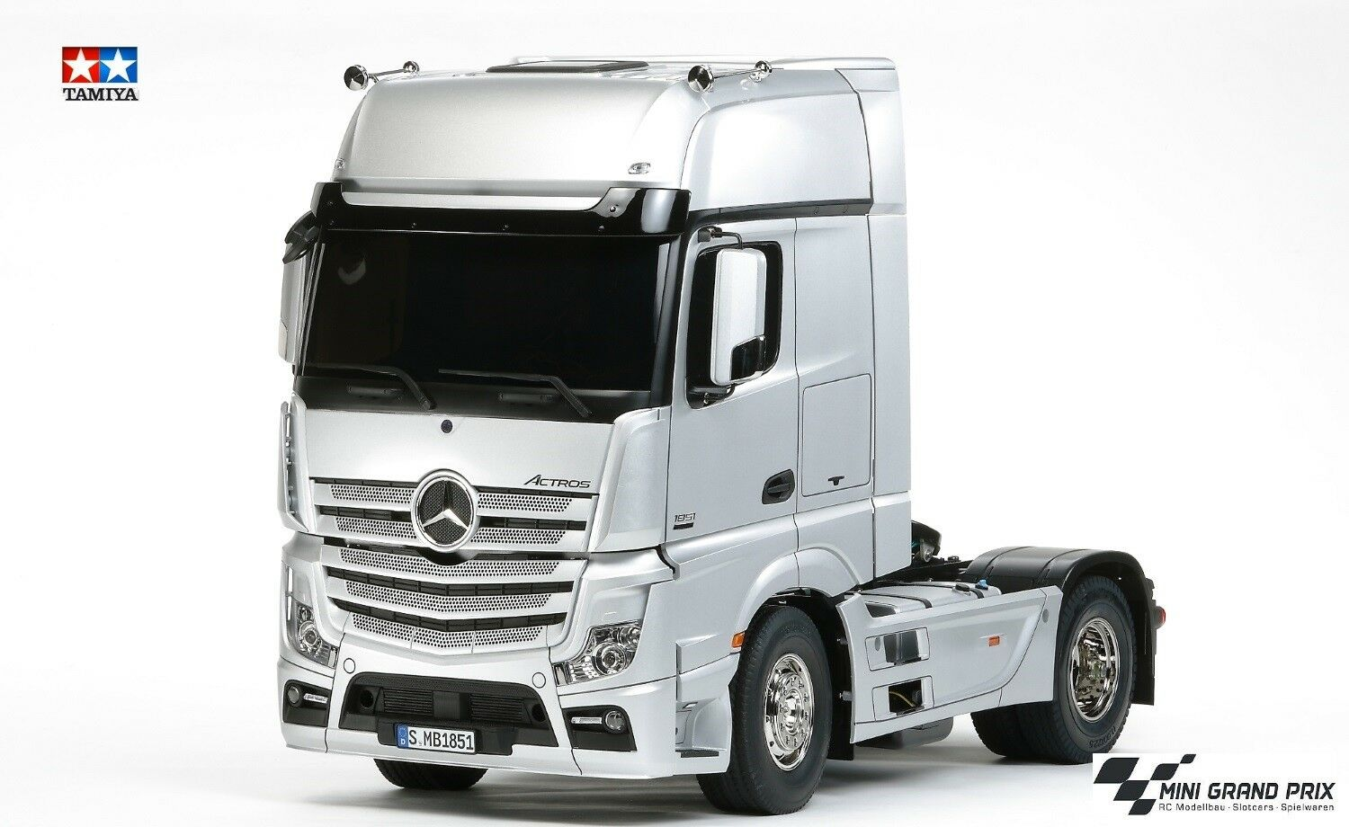 Tamiya 1 14 1 14 RC Mercedes Benz Actros 1851 GigaSpace Kit 56335