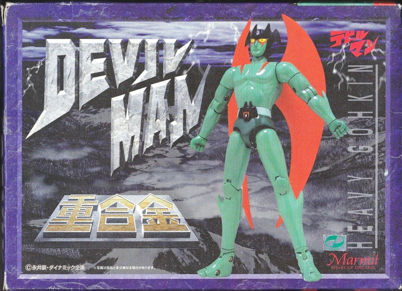 Soul of Chogokin DEVIL MAN MAN MAN HEAVY GOHKIN Die Cast Metal Japan Anime Coloreeee Marmit 95d661