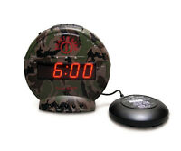 Sonic Alert Bunker Bomb W/ Super Shaker Extra-loud Vibrating Alarm Clock Sbc575s on sale