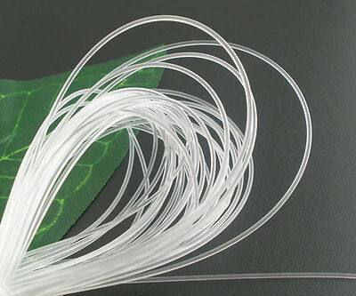 50m White Nylon Jewelry Beading Thread String Cord 1mm