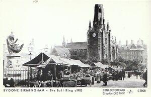 Warwickshire-Postcard-Bygone-Birmingham-The-Bull-Ring-c1903-2230