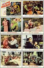 THE TIME MACHINE Complete Set Of 8 Individual 8x10 LC Prints 1960