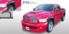 Black Paintable Extension Fender Flares 02 08 Ram 1500 03 09 Ram 2500 3500 Fits More Than One Vehicle