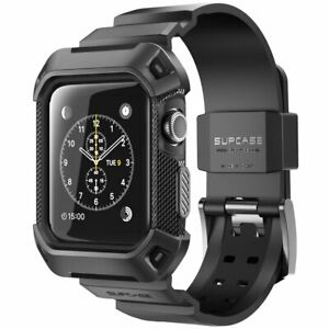 For Apple Watch 3 2 1 38mm Supcase Ubpro Band Strap Protective Rugged Case Cover 843439100022 Ebay
