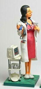 Comic Artikel Figur Weiblich Abbildung Arzt Karrikatur Arzt Guillermo Forchino