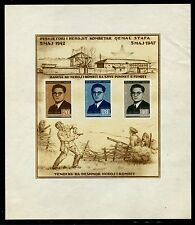 Albania 393a, MNH, no gum Qemal Stafa crease on the margin 1947 see scan. x20470