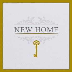 New home greeting card house moving housewarming welcome gold foil image is loading new home greeting card house moving housewarming welcome m4hsunfo