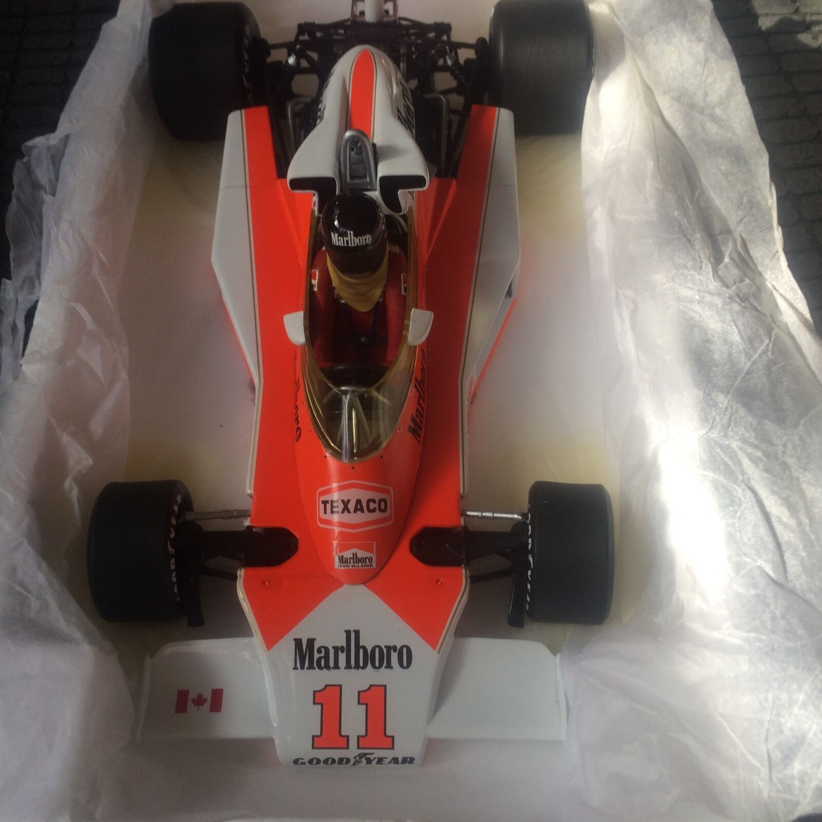 James Hunt Minichamps M23 1 18 Canadian GP 1976 code 3