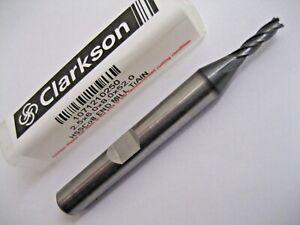 2-5mm-HSSCo8-4-Cannele-Tialn-Revetu-Fin-Moulin-Europa-Outil-Clarkson-1071210250
