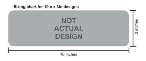 10in x 3in I Brake for Gnomes Vinyl Sticker