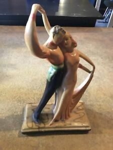 Art Deco Dancing Statue