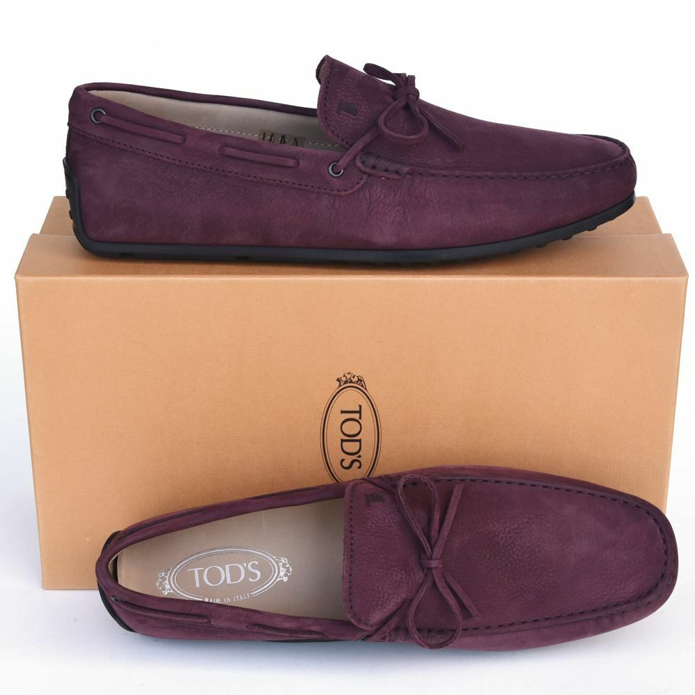 TOD'S Tods New sz   11.5 Auth Designer Uomo Drivers Loafers Shoes
