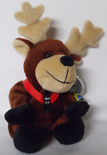 1999 Coca-Cola Sweden Baltic the Reindeer Mini Bean Bag-Beanie
