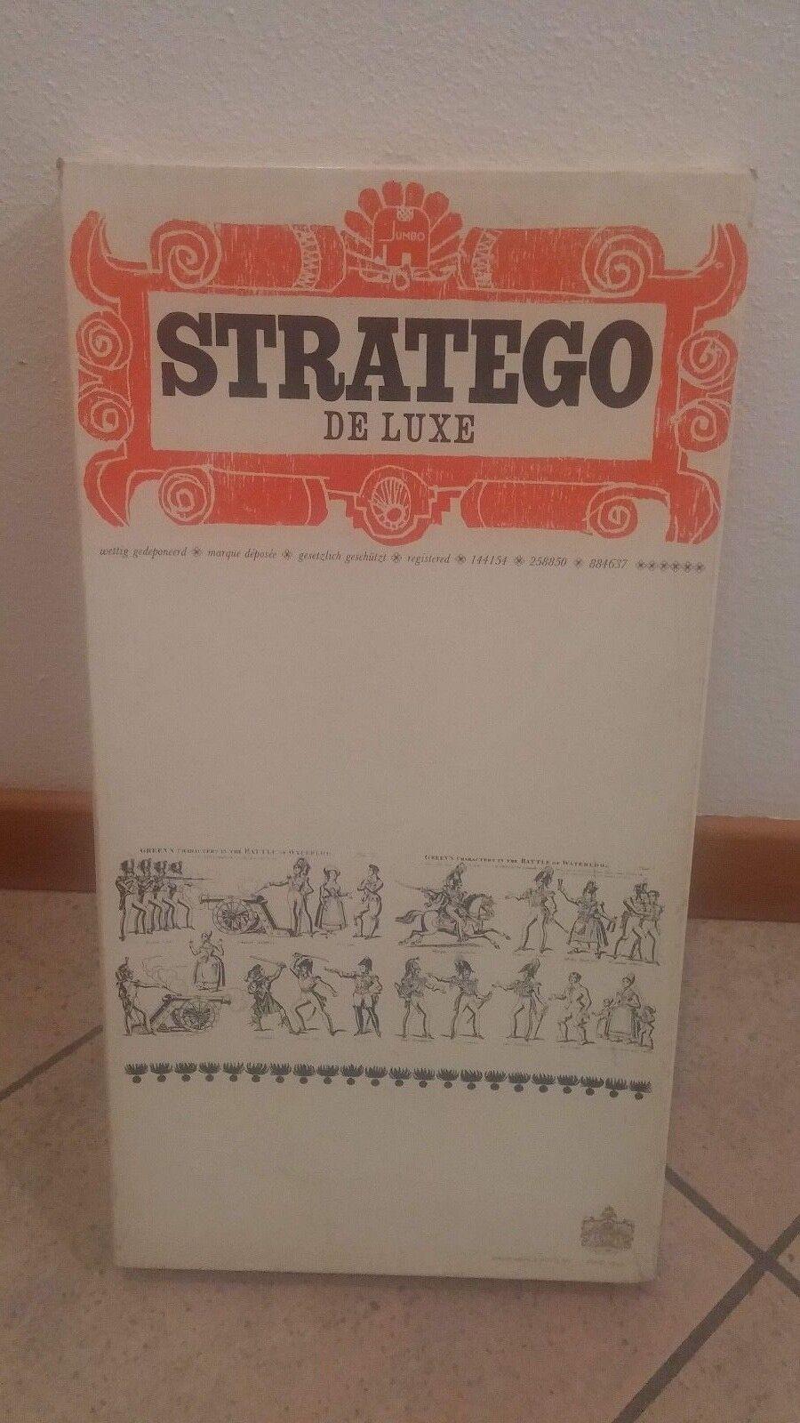 Rarissimo gioco di società Stratego De Luxe (Wit) van Jumbo anno 1974