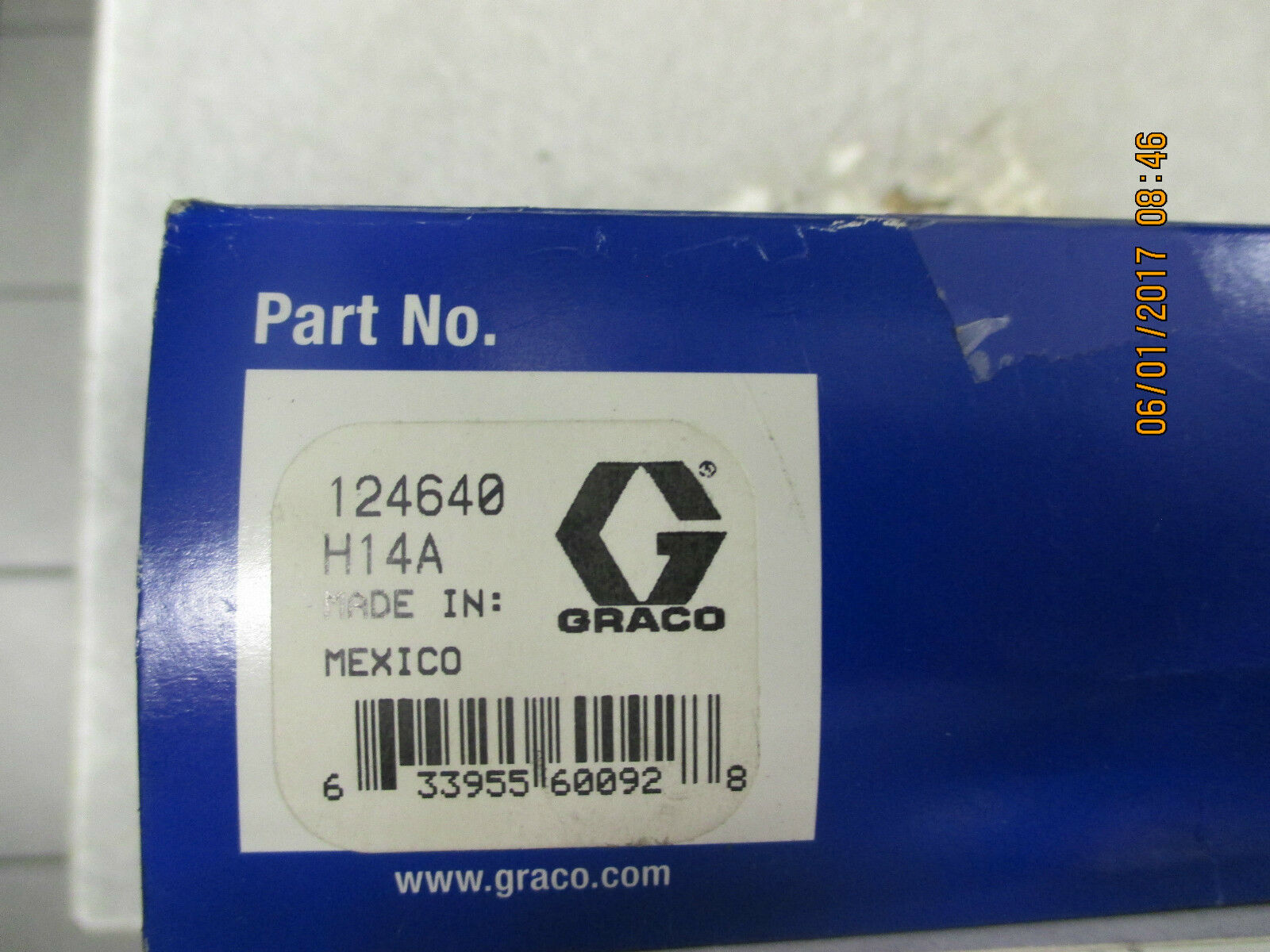 NEW GRACO 124640 ALARM OUTPUT CABLE