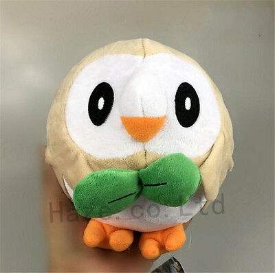 Pokemon Rowlet Plush Toy New 20cm Cute Stuffed Animal Doll Sweet Gift