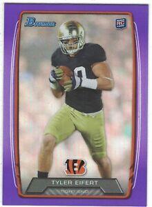 2013-Bowman-Purple-Foil-RC-170-Tyler-Eifert-Cincinnati-Bengals-Notre-Dame-Irish
