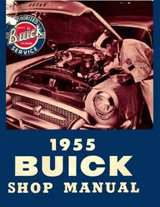 1955-Buick-Shop-Service-Repair-Manual-Book-Engine-Drivetrain-Electrical-Guide-OE