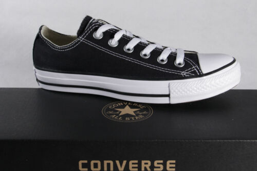 Neuf Chaussure Noir lin Star Converse Basket All Lacets Textile wE7qWvP8