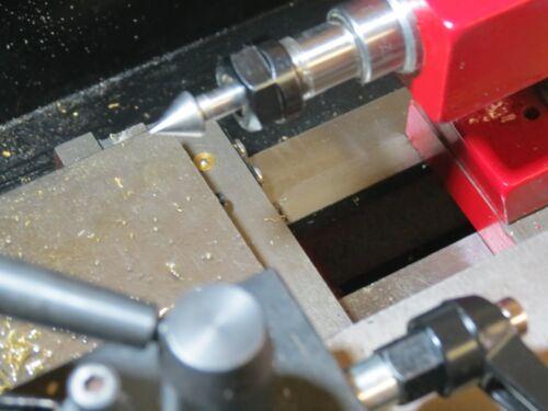 Sehr kleine feststehende Körnerspitze Zentrierspitze mit 6 mm Schaft