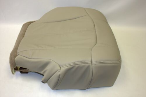 "1999 2000 2001 2002 Chevy Tahoe Suburban Driver Bottom Seat-Cover /""Light/"" Tan522"