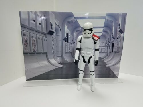 """Star Wars Scene 13/"""" x 19/"""" Action Figure Backdrop Photo Poster"""