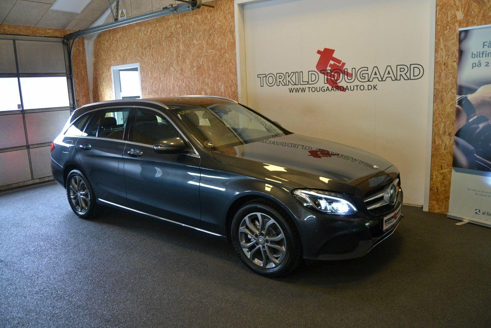 Mercedes C220 d 2,2 Avantgarde stc. aut. 5d - 324.800 kr.