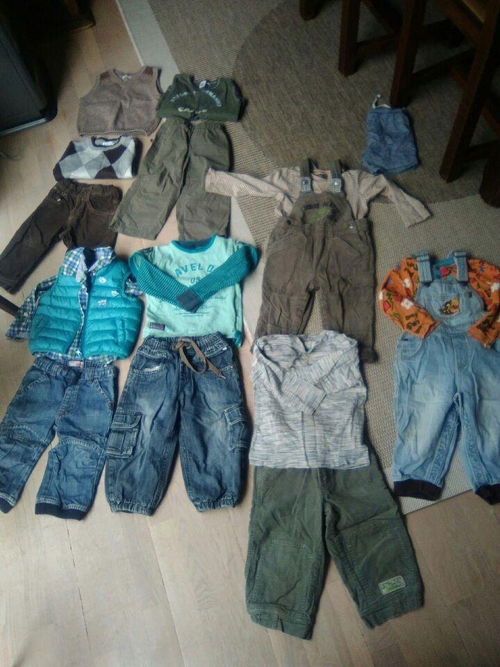 Blandet tøj, Bukser bluser dynevest jakke flyverdragt,