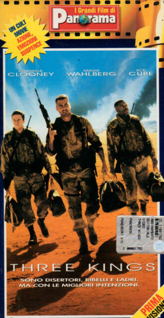 VHS= Three Kings (1999) VHS=I grandi film di Panorama