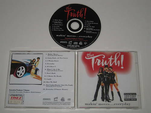 Tha Truth Makin' Moves Everyday ( Pty 138) CD Album