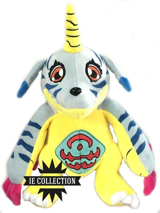 GABUMON DIGIMON SOFT TOY 30 CM snowman Adventure Punimon Garurumon Omnimon plush