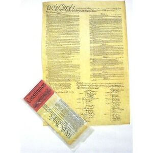Historic-Document-REPLICA-CONSTITUTION-OF-THE-U-S-A-Genuine-Parchment-new-37290