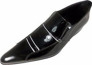 White Black Business 43 italiano Slipper Chelsy Designer Og Stripe 0w4qXvxC